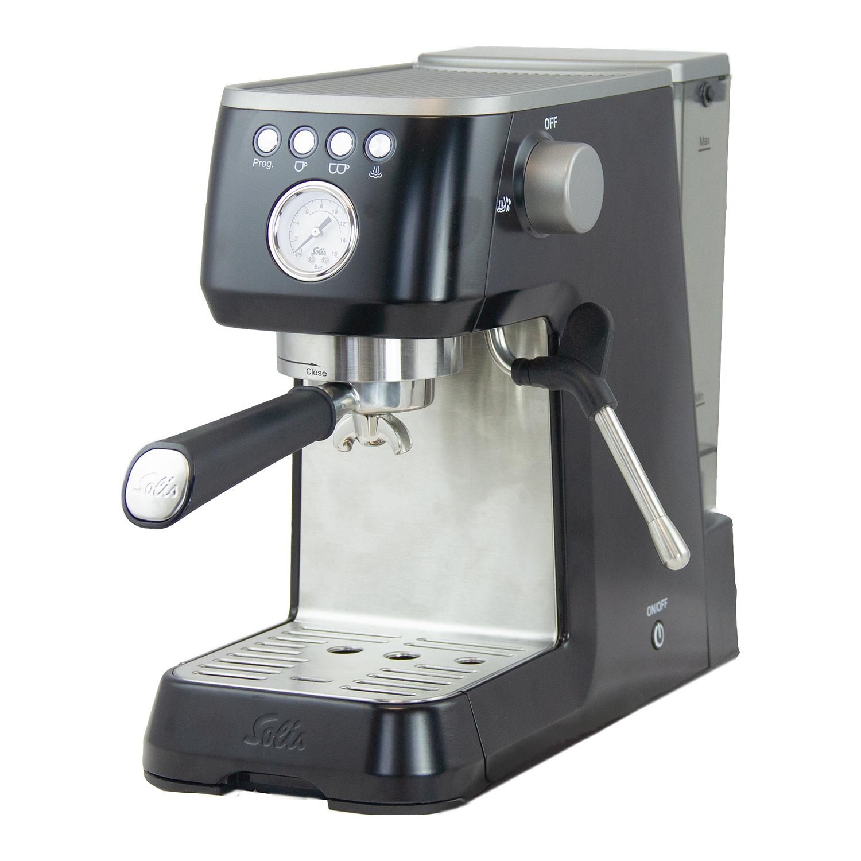 Solis Barista Perfetta Plus Filter Espresso Machine Black Lufthansa Worldshop