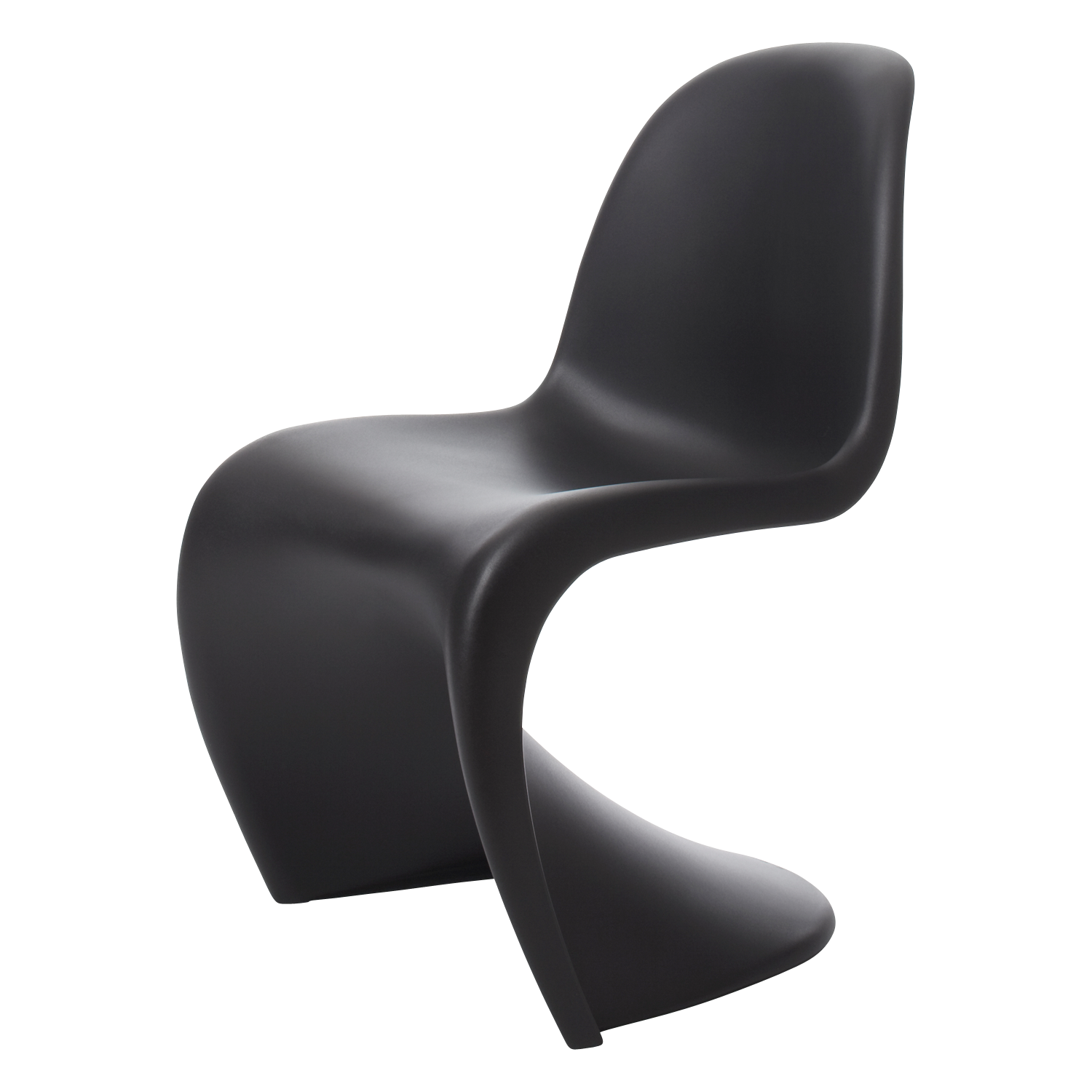 Vitra Panton Chair, Basic Dark