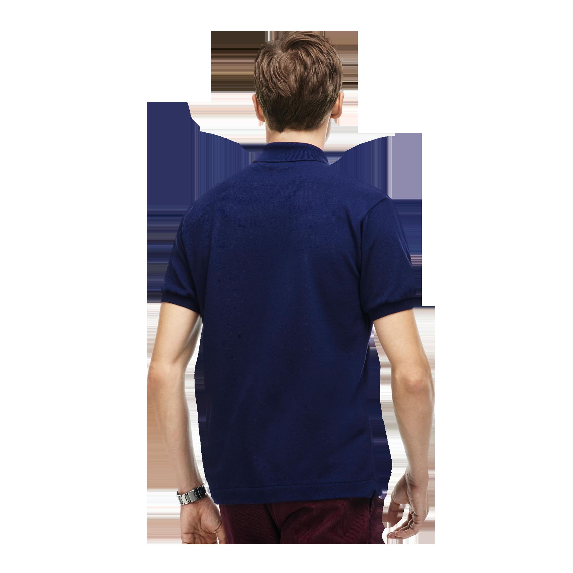 promo code 21a5a 90439 Lacoste CAIMAN, Men's polo shirt, short sleeve, Dark Blue ...