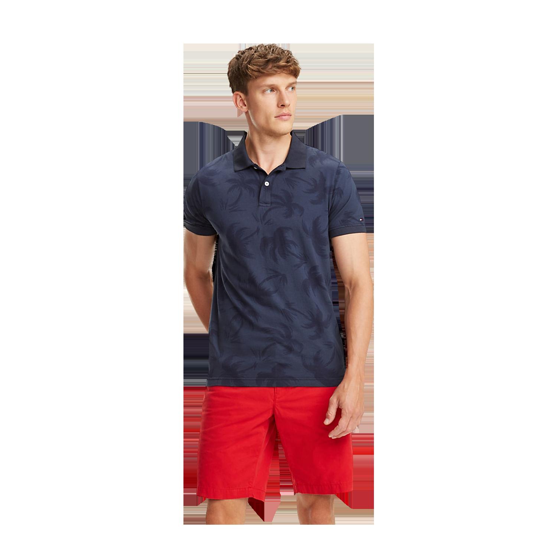 Polo Tommy Hilfiger – Donna Polo elasticizzata a righe Bright White Navy Blazer
