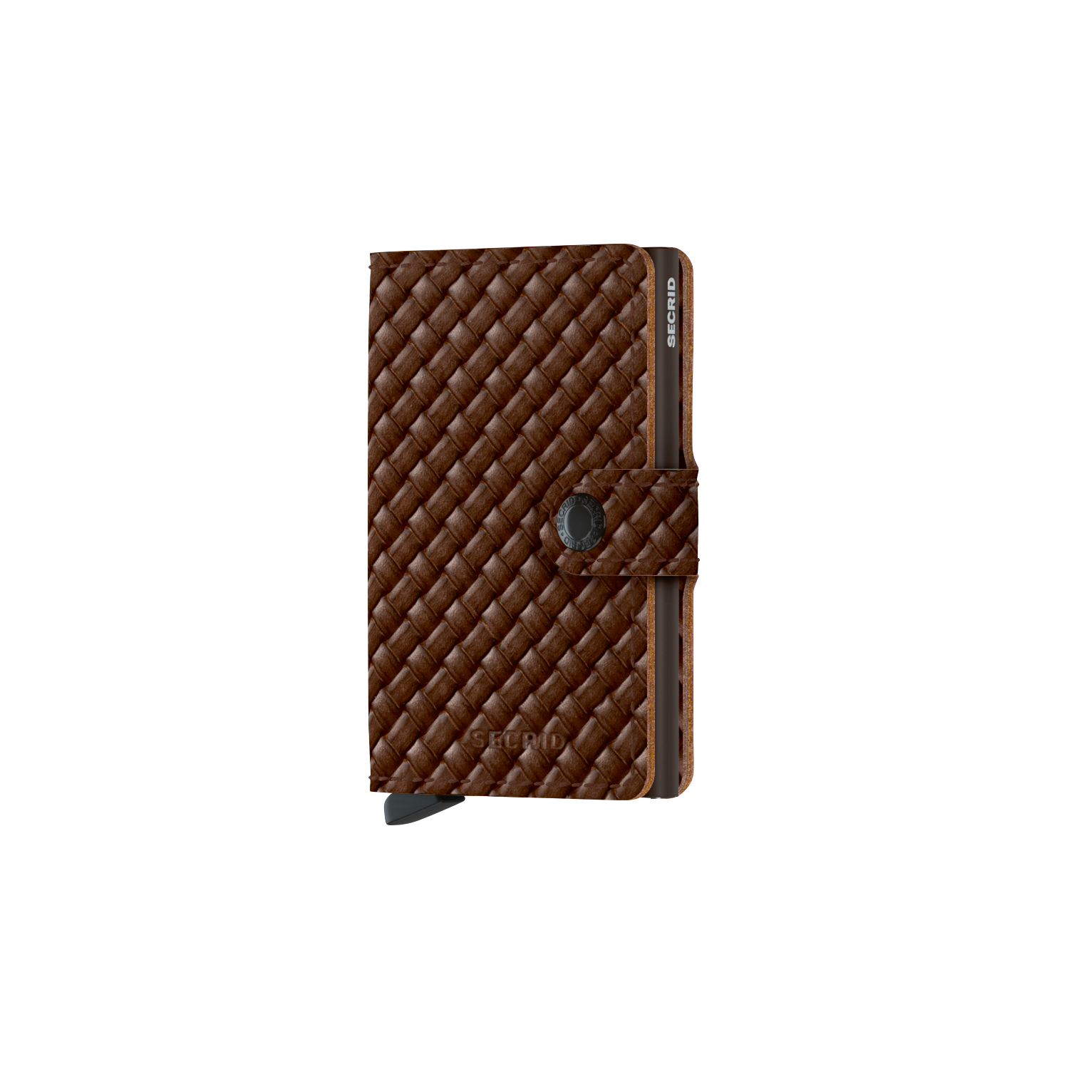 Secrid Miniwallet Geldbörse, Basket Brown