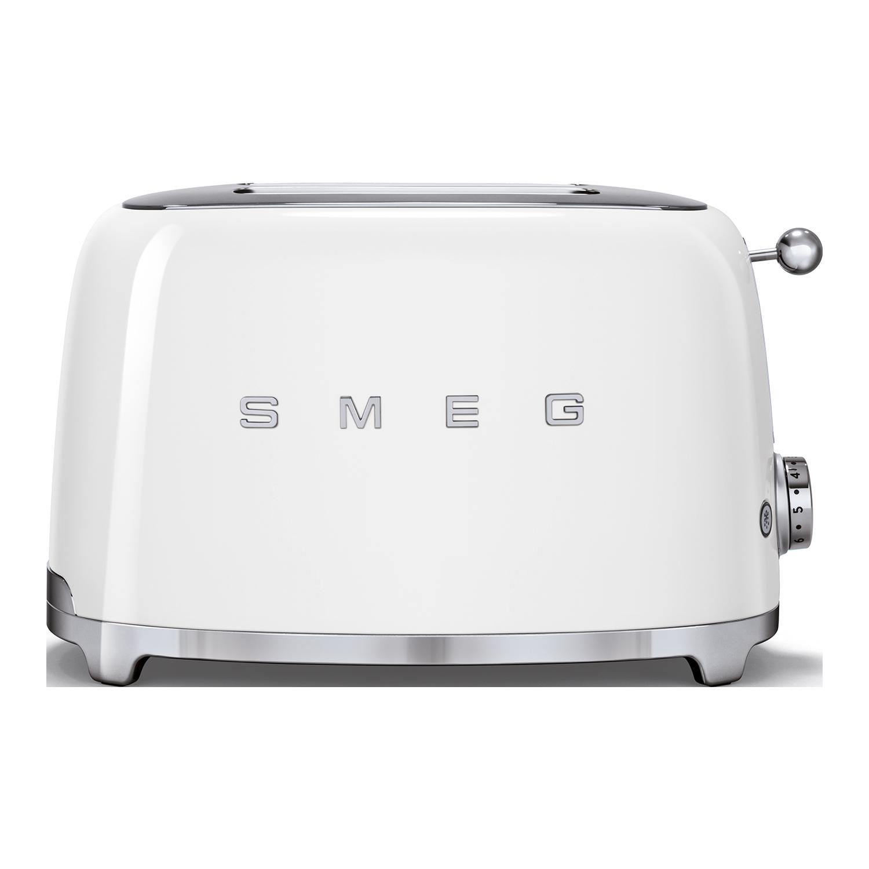 White Smeg 4-Slice Toaster
