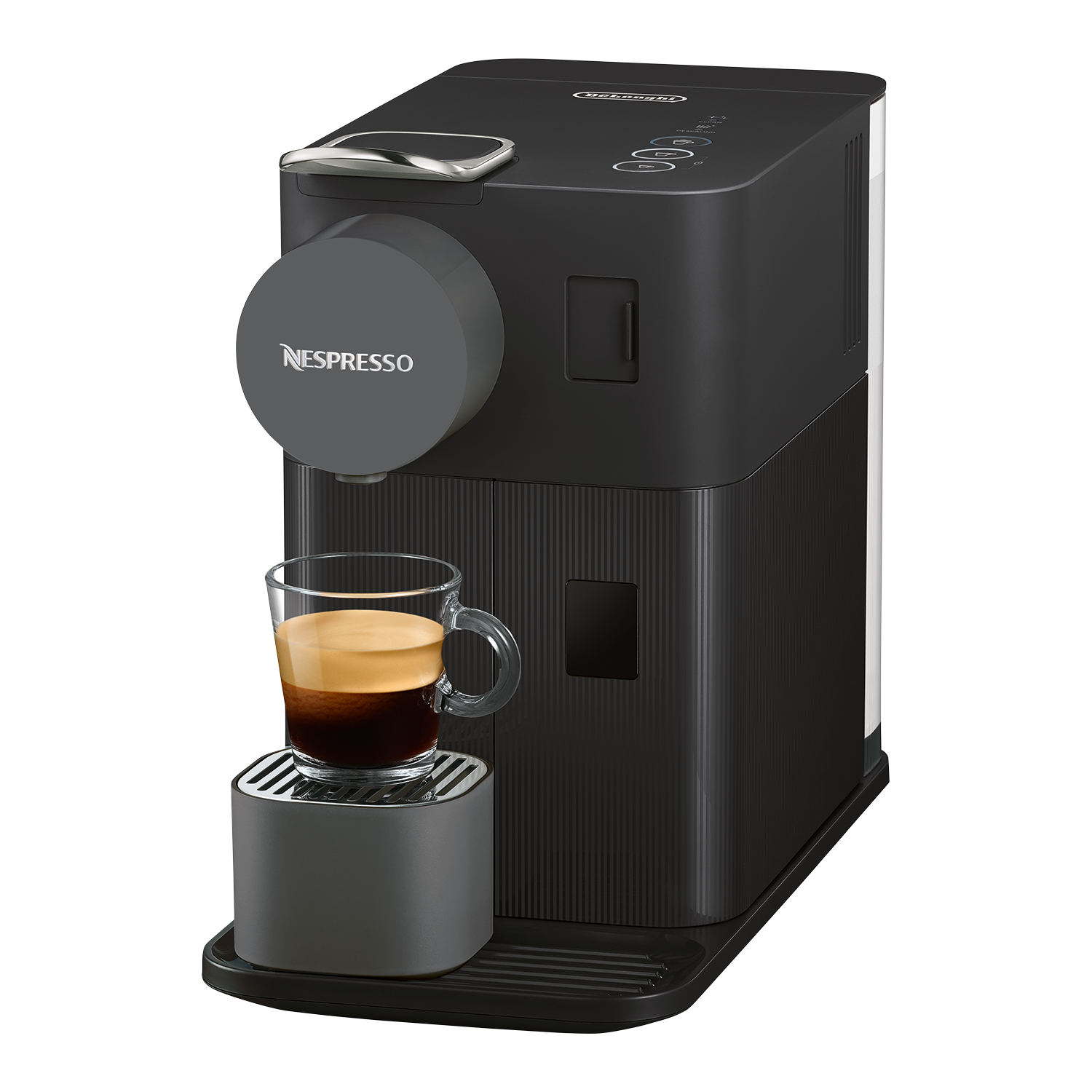 Nespresso Lattissima One EN 500 Kapselmaschine, Black