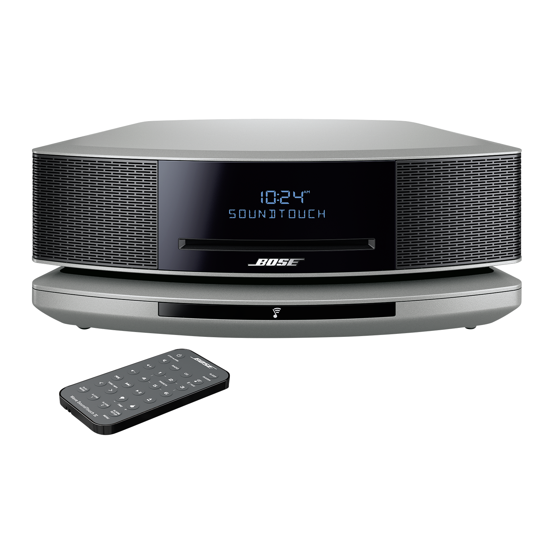 Bose Wave SoundTouch music system IV platinum silver Lufthansa