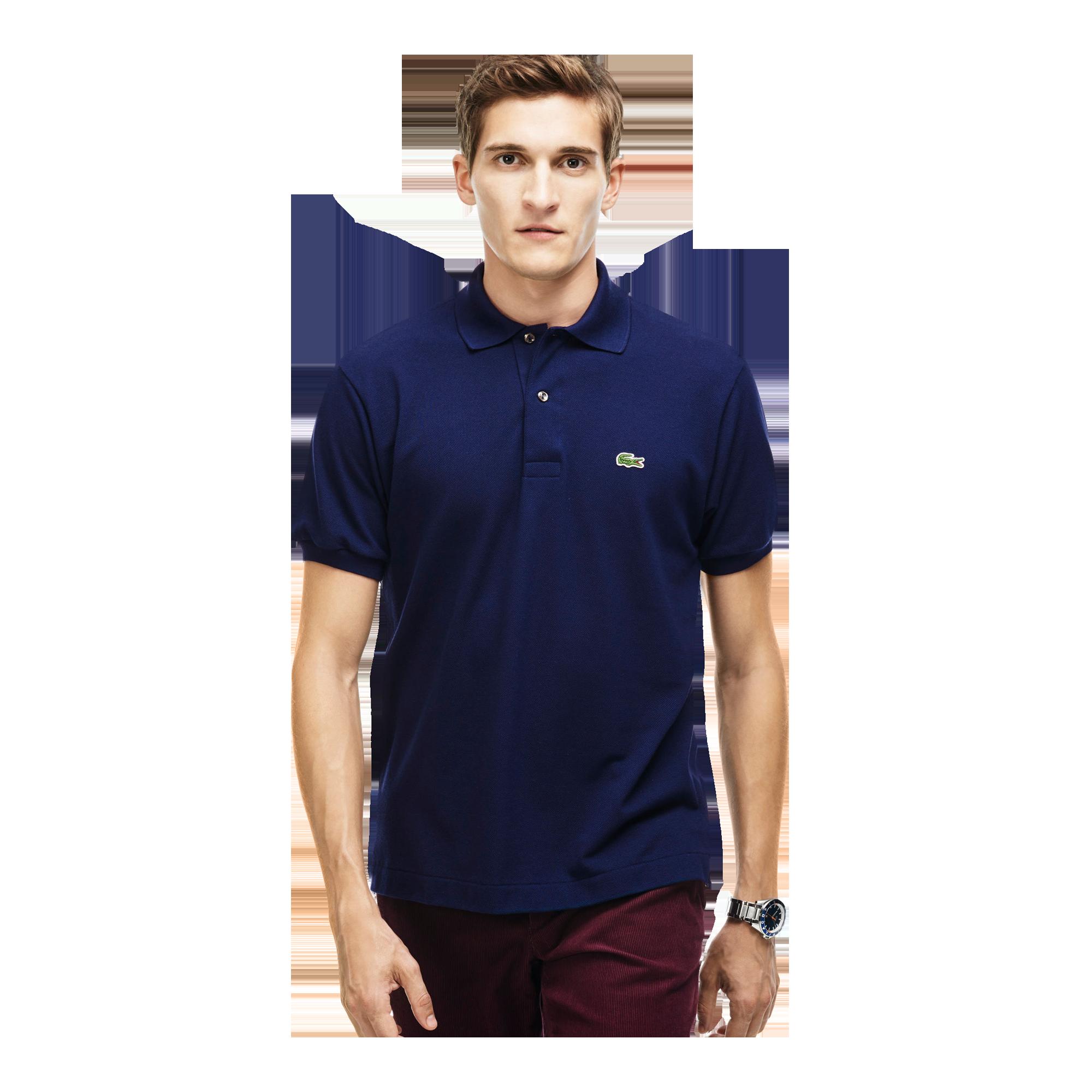 promo code cbba8 9bf8a Lacoste CAIMAN, Men's polo shirt, short sleeve, Dark Blue ...