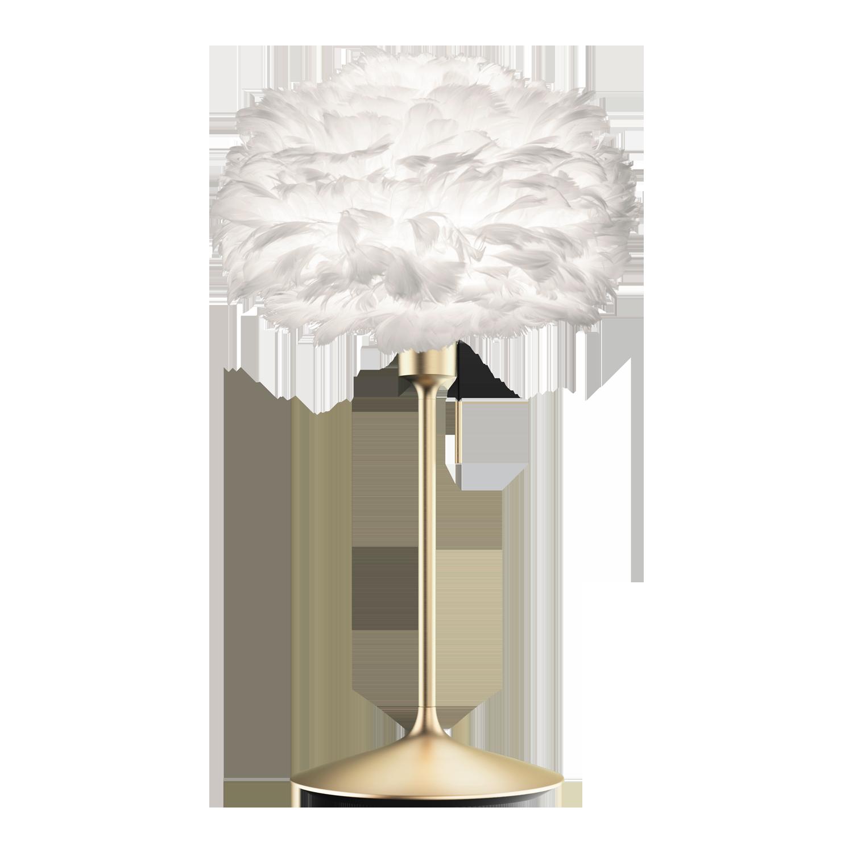 Umage Eos Mini Champagne Lampada Da Tavolo Bianco Ottone Spazzolato Lufthansa Worldshop