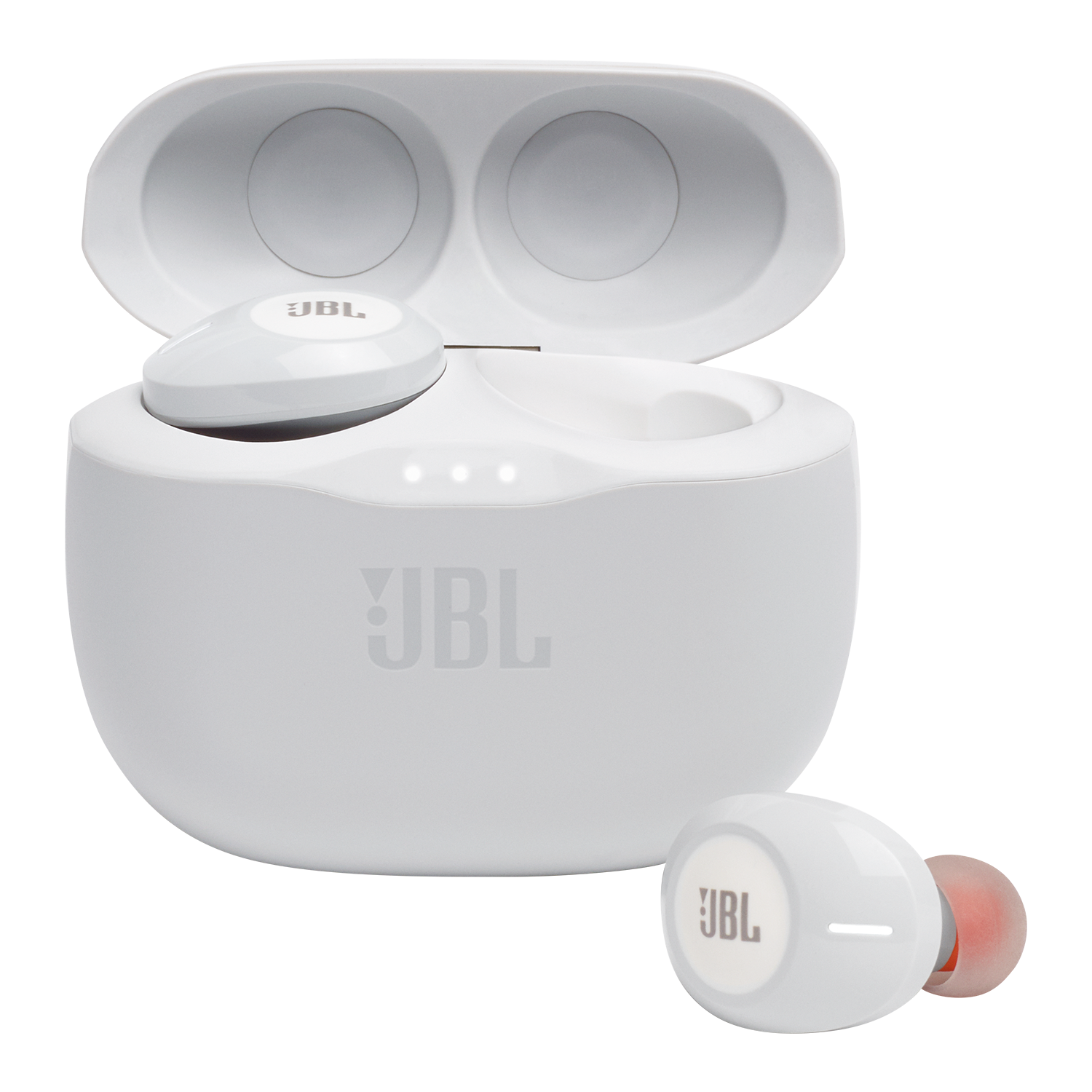 JBL Tune 125 TWS True Wireless In-Ear-Kopfhörer, Weiß