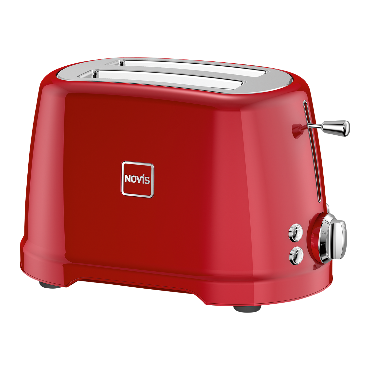 Novis Iconic Line T2 Toaster, Rot