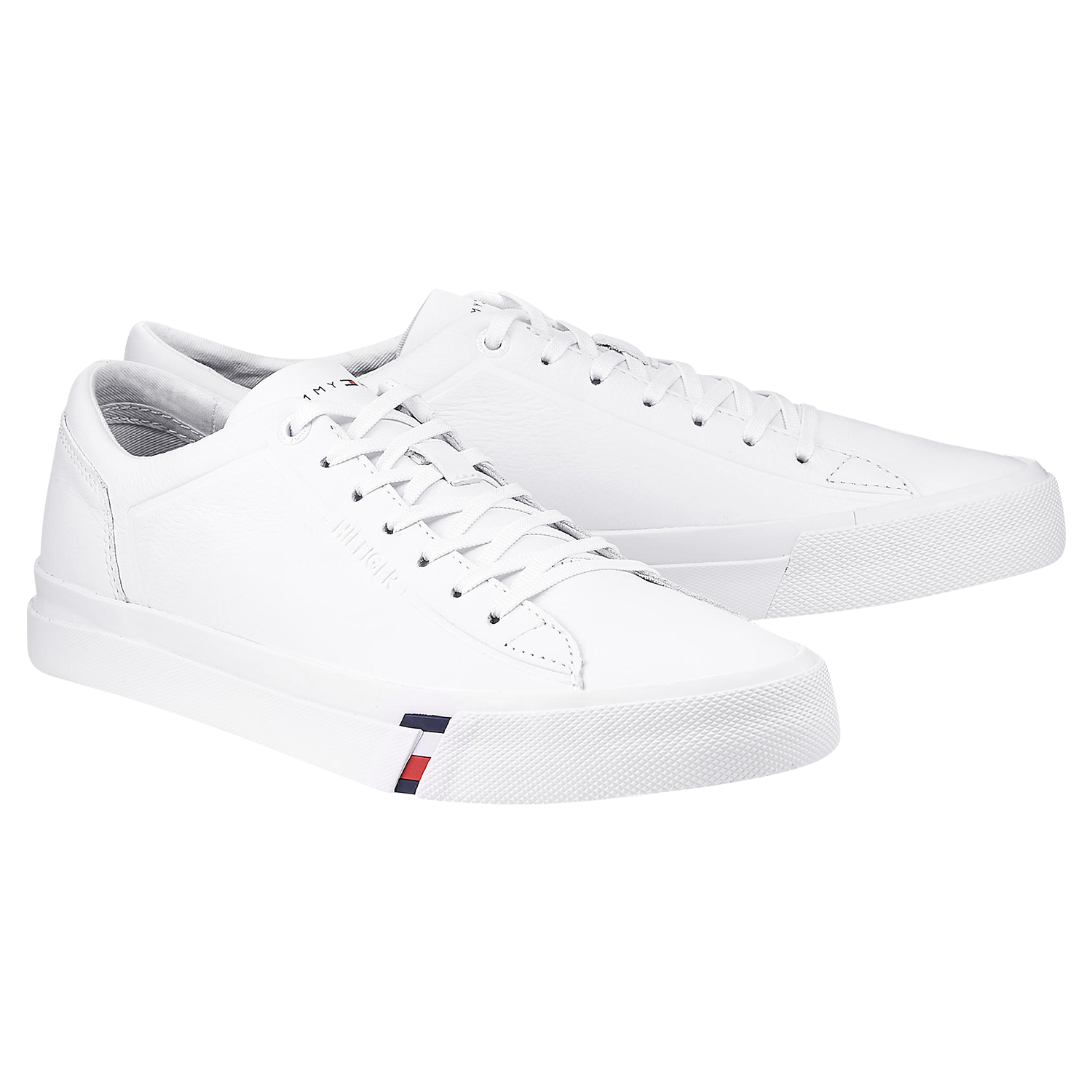 TOMMY HILFIGER Sneaker Low 'METALLIC CITY' in silber | ABOUT YOU