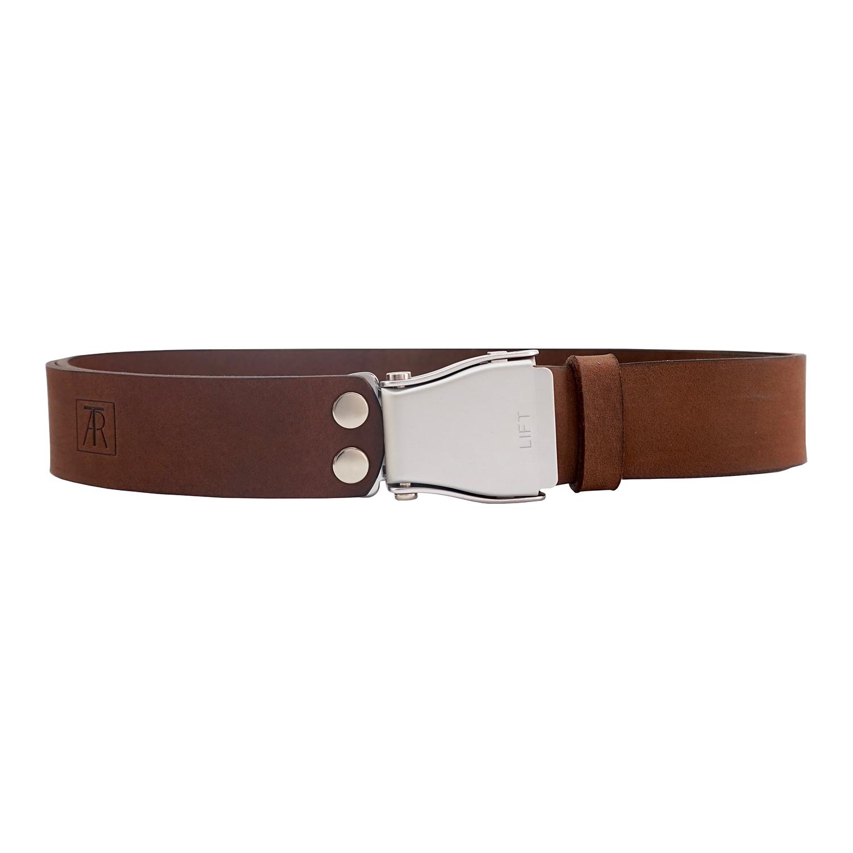 gehobene Qualität großhandel online neuer & gebrauchter designer TARTAR Leather Belt With Aeroplane Buckle, Nubuck Black ...