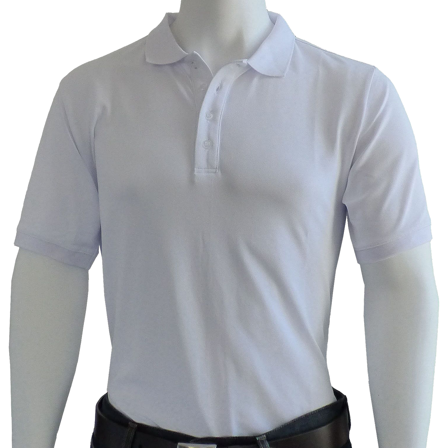 OPTION GOLF Multi Functional Basic Polo, Weiß