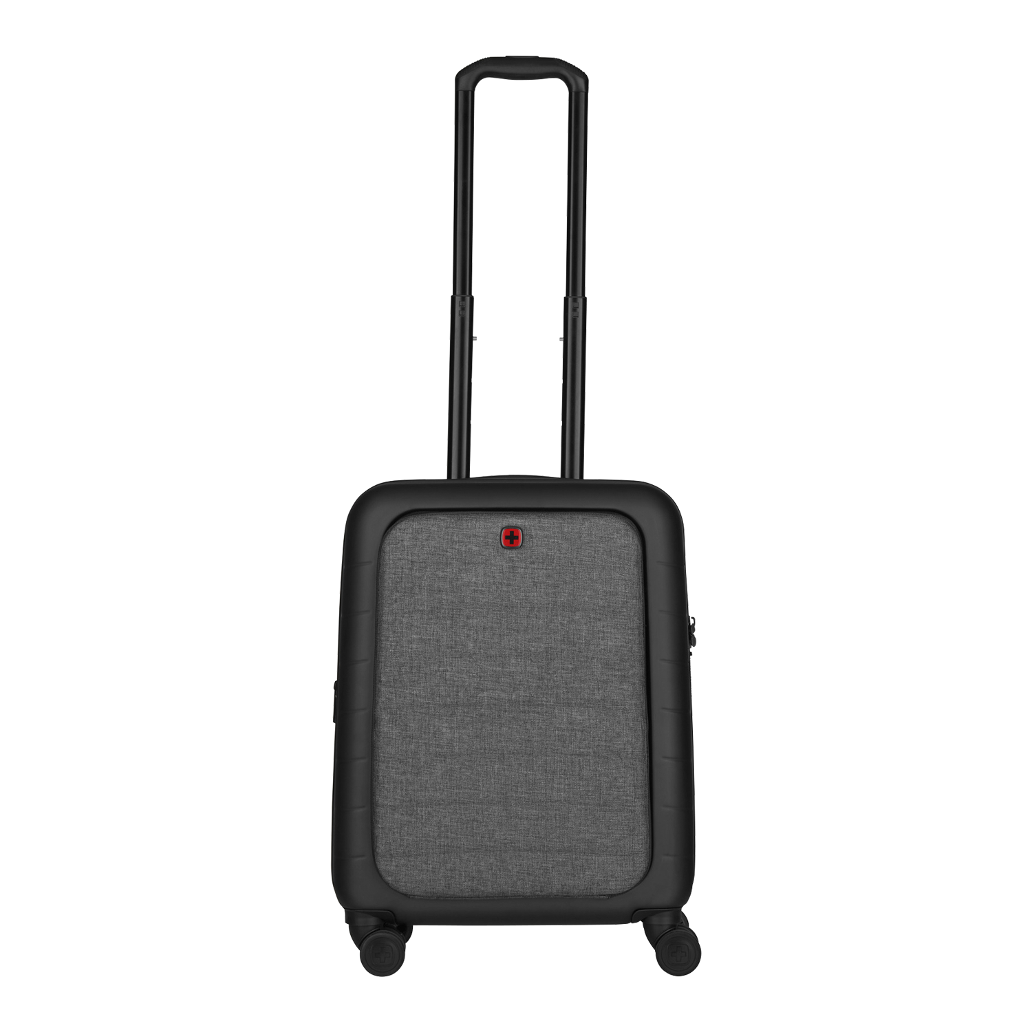 WENGER Syntry Trolley (erweiterbar), Black / Heather Grey
