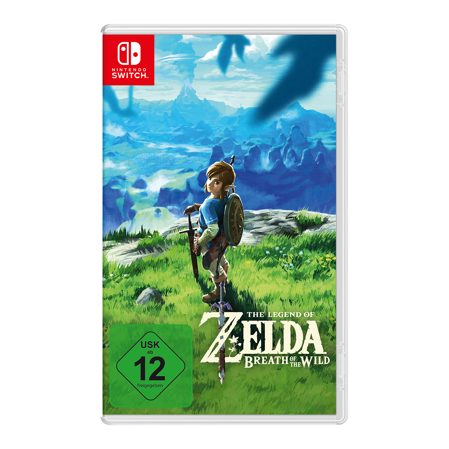 "Nintendo Switch Game ""The Legend of Zelda: Breath the Wild"""