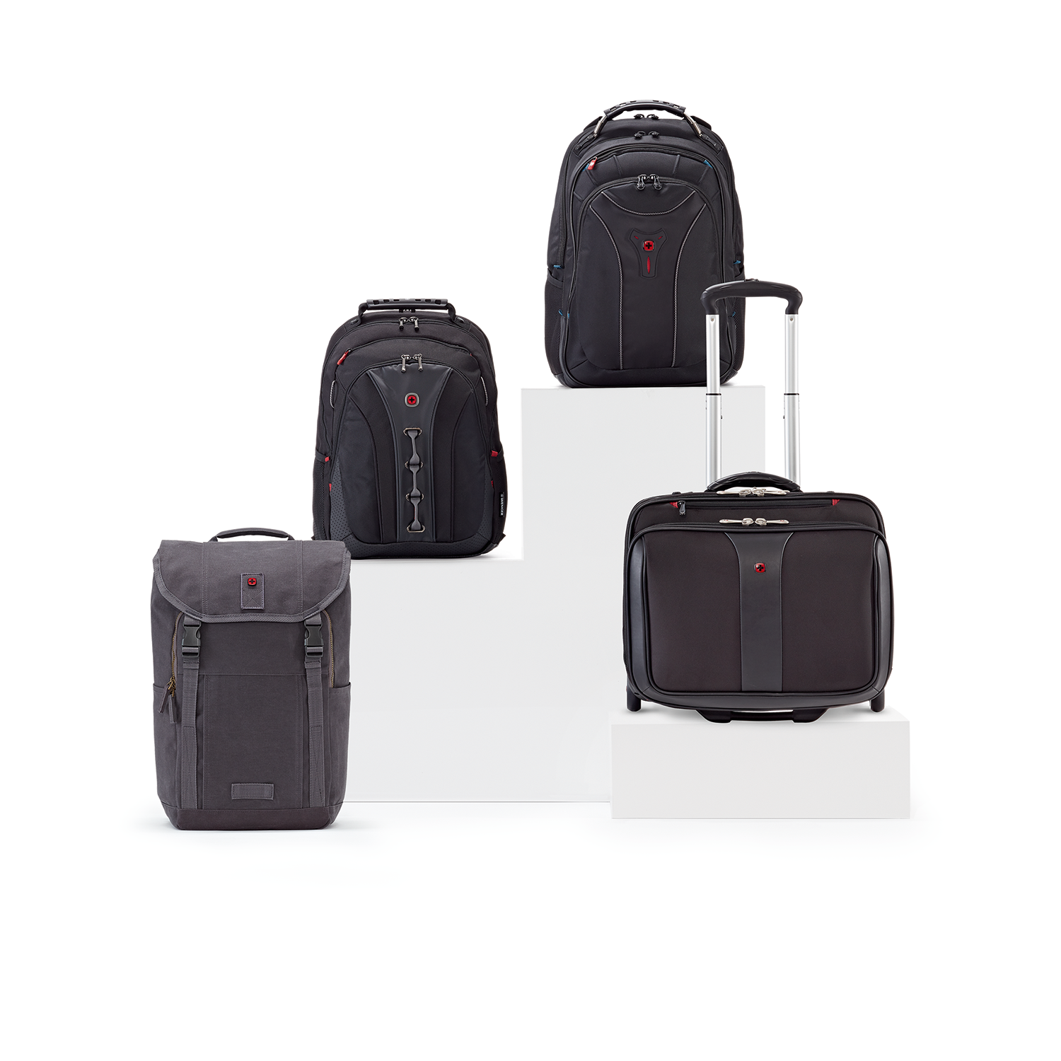WENGER Patriot 2 Laptop Trolley, Schwarz