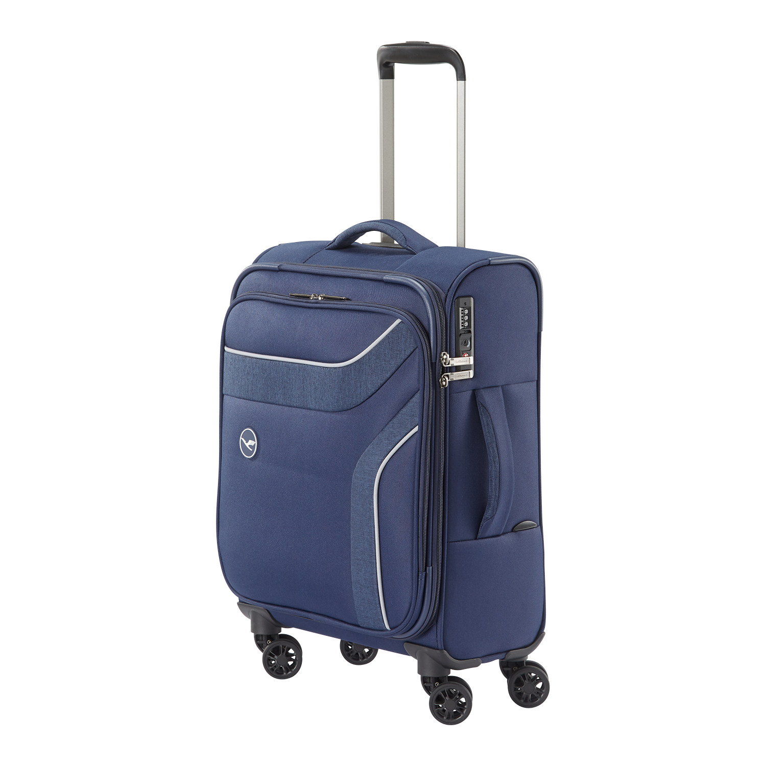 Lufthansa Holiday Collection 3.0 Bordtrolley, 4-Rad, Marine
